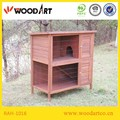 Promotional Two-layer Wooden Rabbit hutch
