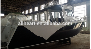 Aluminum Fishing Boat 6.85M Deep V Cabin Wholesale/Alloy Hard Top Cabin 22FT 23FT For Sale China