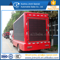 Diesel Engine Type and Turbocharger Type small size double sides led screen trucks for carnival factory price