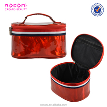 Free Sample Professional Pink/Red/Black PVC Cosmetic Bag For Make up