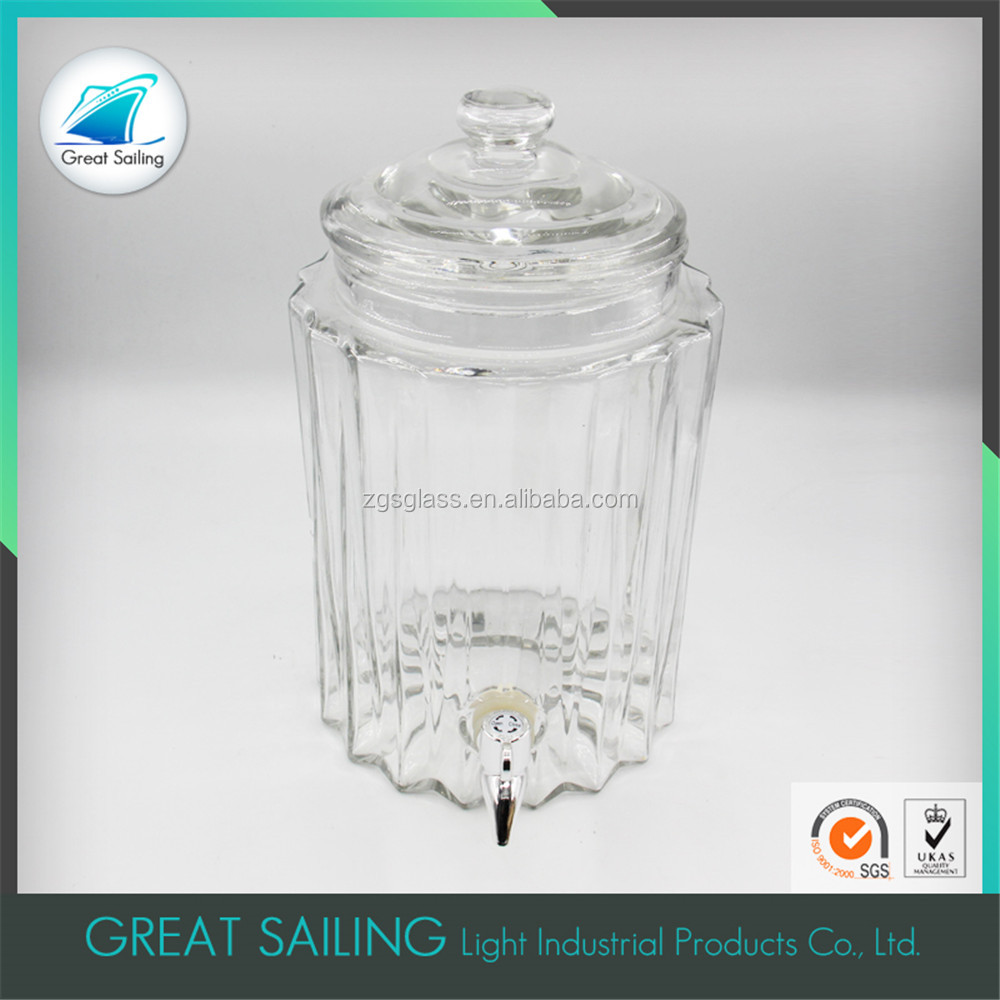 Home Decorate 8 Glass Mini Water Dispenser