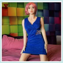 China sex products Real Feeling Sex Doll with Cyberskin and Metal Skeleton Full Silicone Body