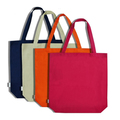 SMETA sedex audit 4p factory high quality canvas tote shopping bag fast delivery for wholesale