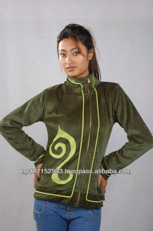 cotton ladies jacket for winter wear