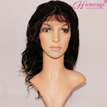 Homeage in stock cheap brazilian hair human sewing hair to wig