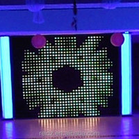 fabric led curtain for decorating wedding halls