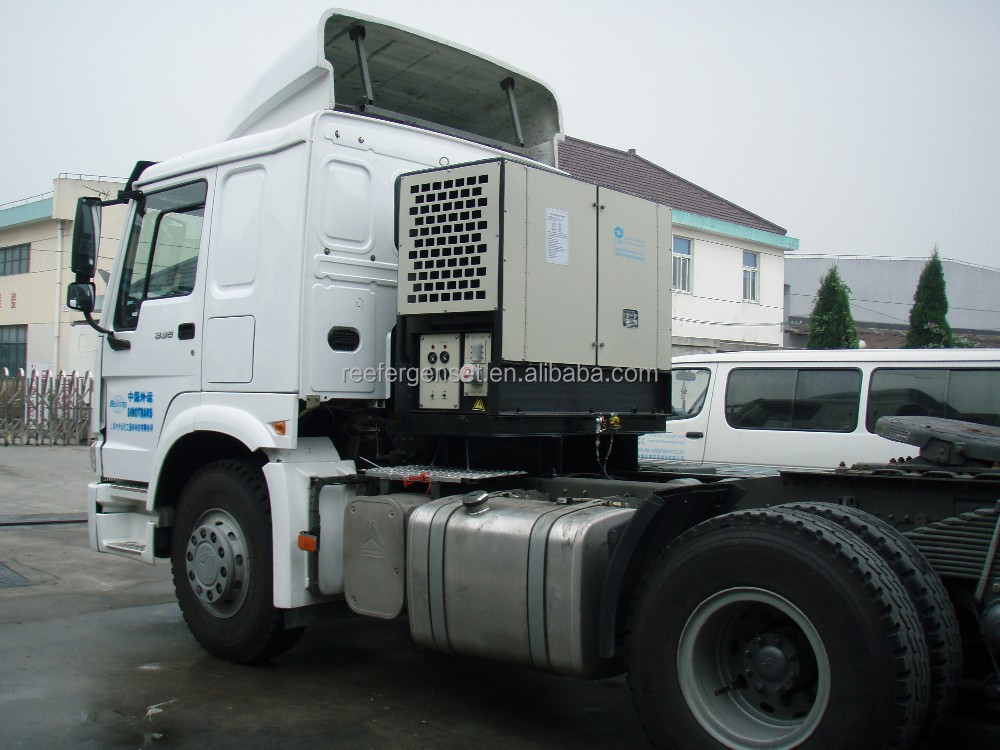 truckmount genset for refrigerated container