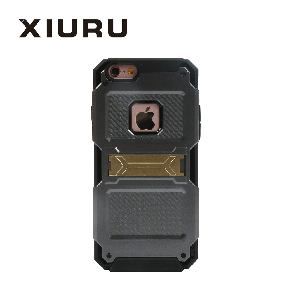 Dual layer TPU PC Wholesale Cell Phone Case With Kickstand Fit For Samsung J7 Mobile Phone