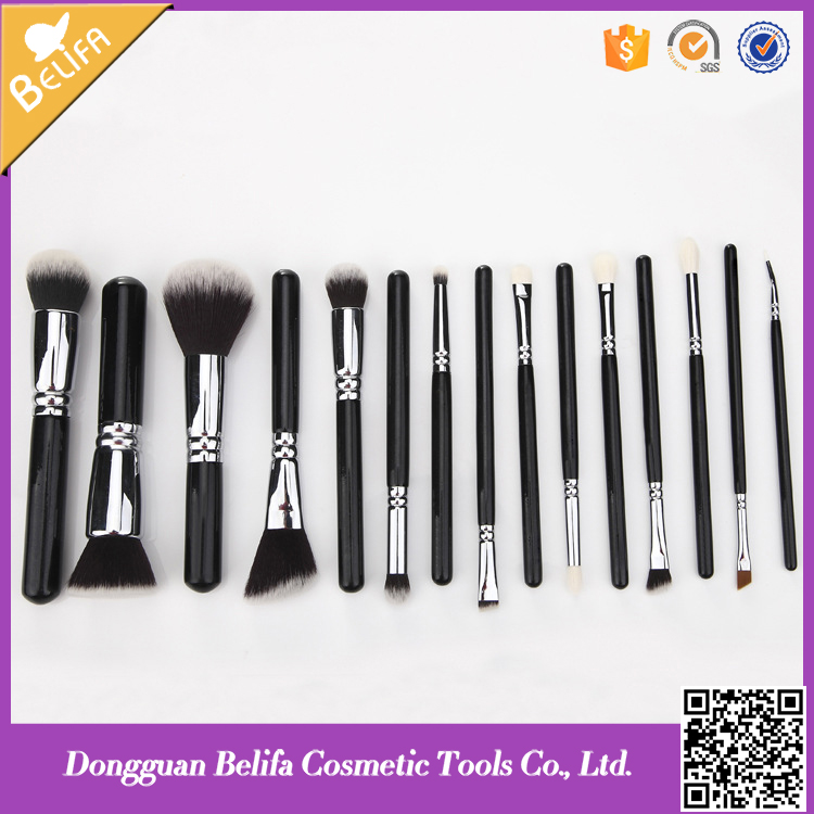 2016 New Style Professional Makeup Brush Set 15 Pcs Kit