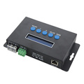 BC-204 4-channel E1.31 or artnet to spi in led stage lights DMX512 RGB controller
