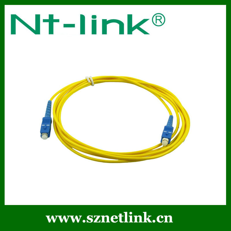 Hot selling SC SM MM SX DX fiber optical patch cord NT-FOPC001