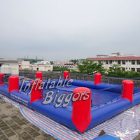 Hot selling inflatable football game for adults