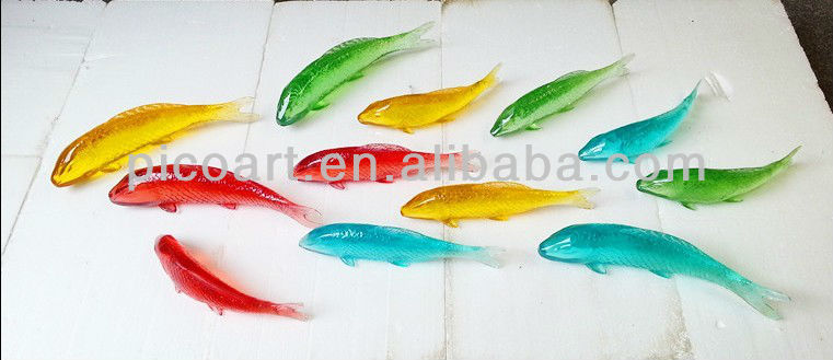 Fish Wall Art,Clear Resin Artworks For Interior Decoration