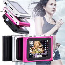 Support 2G 4GB 8GB 16GB Card 1.8inch LCD FM Radio Video Mp3 Mp4 Player