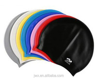 Summer popular soft healthy silicone swim cap.silicone swimming cap