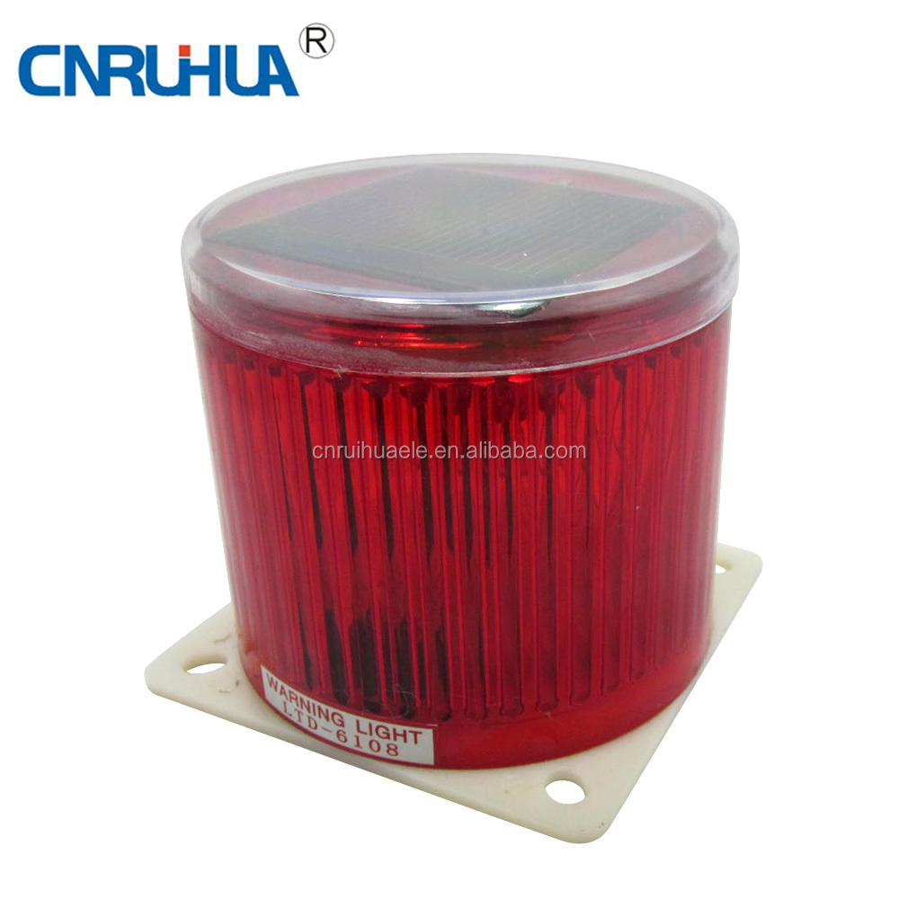 Manufacture Safty Solar Traffic Led Warning Light