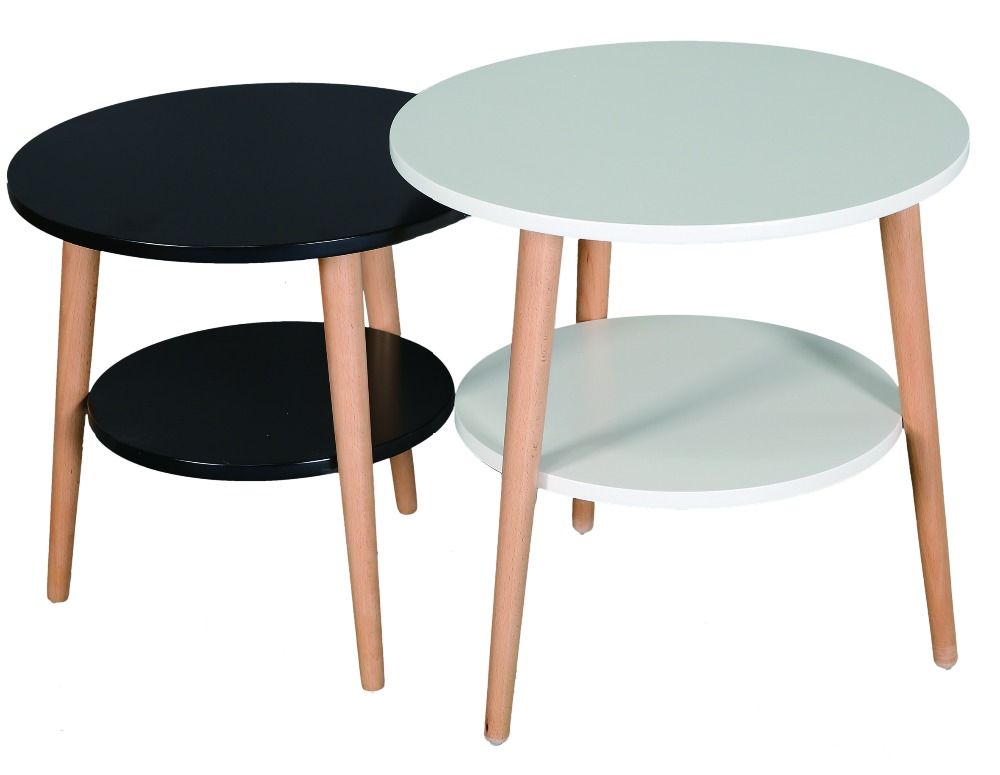 Modern living furniture set round coffee table tea table for sale