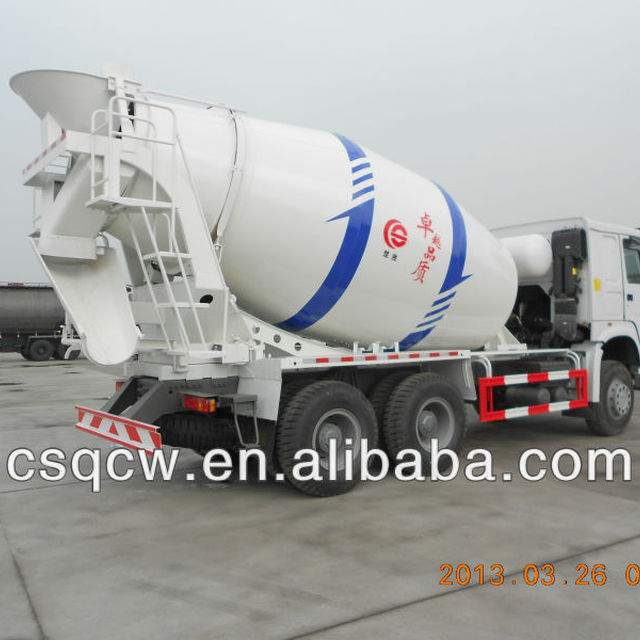 Dongfeng Tandem Axle Truck Mixer for Concrete Transportation