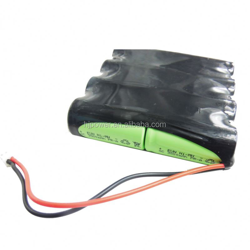 Rechargeable 9.6V NIMH AAA AA 12A 24A 36A Battery Pack for electraic bicycle