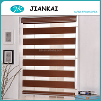 China supplier blackout horizontal dual shade roller zebra blinds