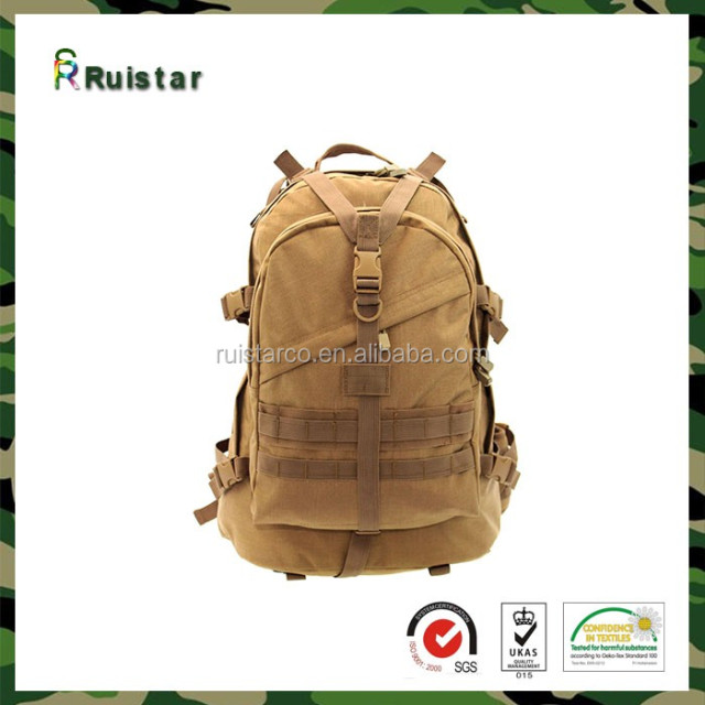 Men Women Outdoor Camping Hiking Camouflage Backpack