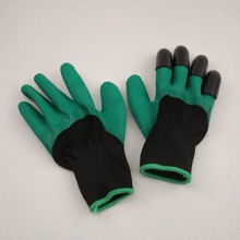 protect hand green clawed gardening gloves digging glove plant flowers glove