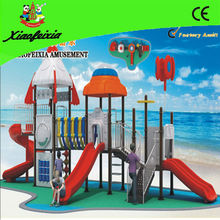 colorful outdoor homemade playground equipment for sale