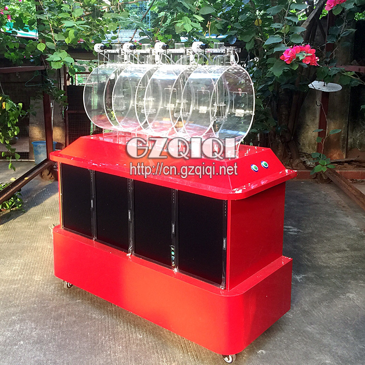 High quality air mix rotary machine for blowing lottery number