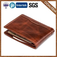 8 Years Manufacturer Advanced Manufacturing Original Design Mens Leather Wallets Bifold