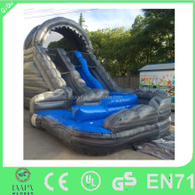 High quality cheap commercial use inflatable dry wet slides