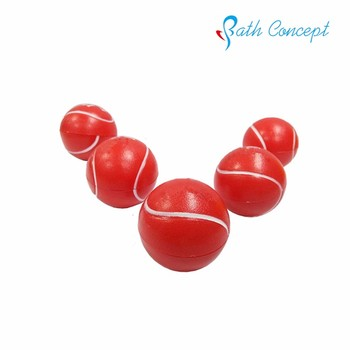 Tennis ball shape for round roller ball lip balm