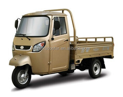 2015 hot cargo tricycle with cabin 200cc Single cylinder, water-cooled, 4-stroke van cargo tricycle