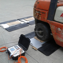 portable truck scales axle scale weight pads