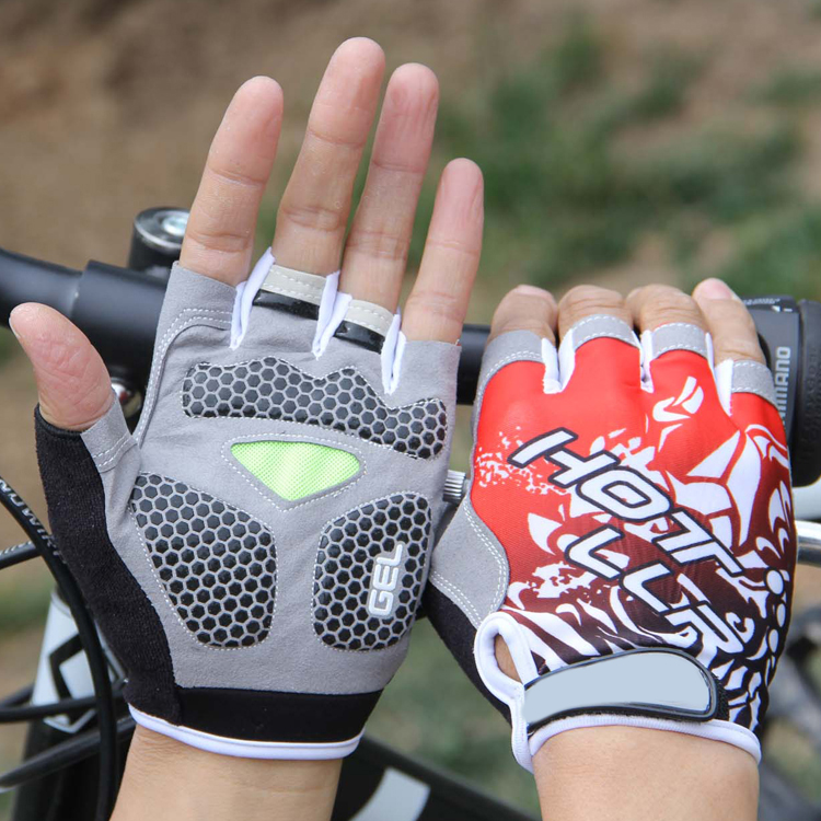 2016 gym Men Cycling Glove Slip mtb sport breathable shockproof Bike Bicycle Gloves with Half Finger