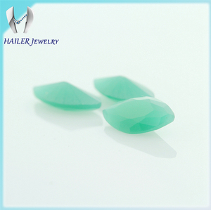 Factory outlets Marquise shape glass beryl stone