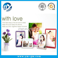 High quality cheap magnetic photo frame new models for 2x2 photo picture