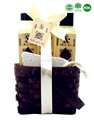 Essential oil bath spa gift set in Wooden Basket