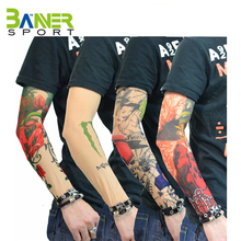 Wholesale Arts Temporary Tattoo Sunscreen nylon arm sleeve warmer