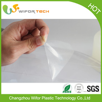 Manufacturer in China Surface Protection Temporary PE Self Adhesive Plastic Film Roll