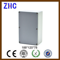 188*120*78 Custom Junction Box Price IP66 Waterproof Outdoor Enclosure Electronic Diy Aluminum Project Box