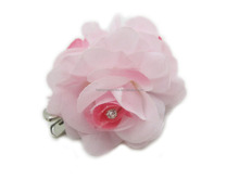 Lady Light Pink Rose Hair Clip Hairpin Wedding Decoration