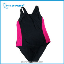 OEM 2016 Hot girls one piece bathing suit high waist bathing suit