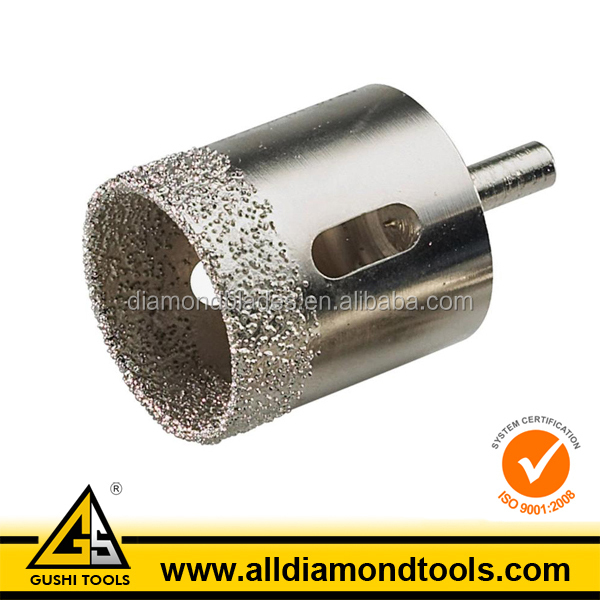 Vacuum Brazed Glass Core Drill Bits for Tile