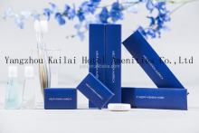 Disposable cheap hotel amenities sets/travel supplies/bath and body works hotel amenities supplier