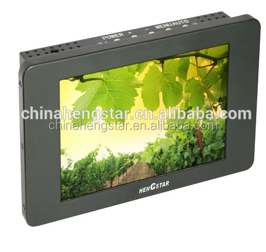 12.1'' Small Wall Mount Touch Screen Industrial LCD Monitor