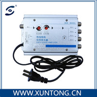 2016 xuntong Indoor high quality 2 way CATV signal amplifier