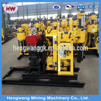 Top quality widely used portable water well drilling rigs for sale (200m depth)