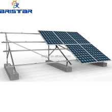 Pv Mounting Structure System Flat Roof Solar Panel Mounting Brackets