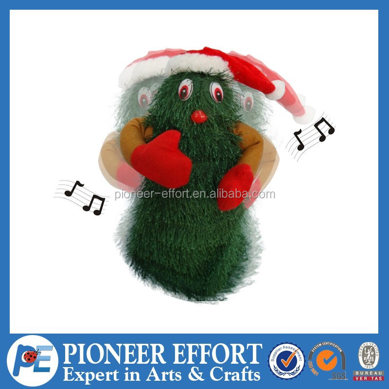 christmas tree toys dancing and singing xmas tree for christmas gifts