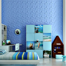 new products easy DIY paintable self-adhesive 3d wall panel